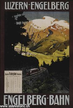 Engelberg-Bahn. Luzern-Engelberg