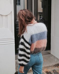 Stripes + color block.