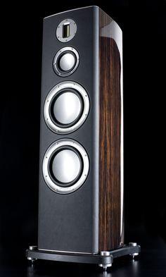 Monitor Audio Platinum www. Audiophile Speakers, Monitor Speakers, Hifi Audio, Tower Speakers, Stereo Speakers, High End Speakers, High End Audio, Audio Design, Speaker Design
