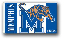 NCAA Memphis Tigers 3 Ft. X 5 Ft. Flag W/Grommets