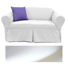 Solid Natural Furniture Slipcover