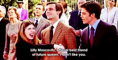 "She can shut it down. | 17 Reasons Lilly Moscovitz From ""The Princess Diaries"" Should Be Your BFF"