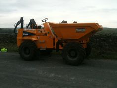New dumper for start of Hincaster canal project