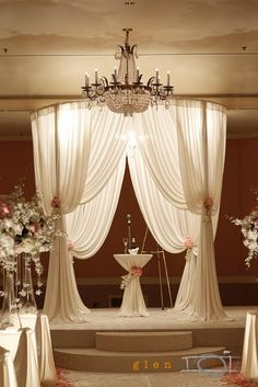 Love this round Chuppah