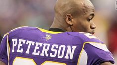 """Running back Adrian Peterson of the Minnesota Vikings, will not play until his legal issues are resolved. Peterson is facing a child abuse charge for causing bodily injuries to his son. Early this week, the team said that Peterson would practice and play in the game this week. A statement today will require him to """"remain away from all team activities."""" The owners Zygi and Mark Wilf believe that this resolution is the best for the team and Peterson."""