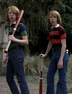 The twins from American Horror Story. Costume Designer: Chrisi Karvonides