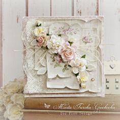A romantic flower card