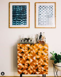 Discover beautiful designs and decorating inspiration from a variety of rooms designed by Havenly's talented online interior designers. Bar Cart Styling, Beautiful Space, Home Goods, Curtains, Interior Design, Instagram Posts, Decor, Style, Nest Design