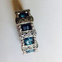Fitbit Charge Bling Fitness Band Gemstone by debstonesbydiane