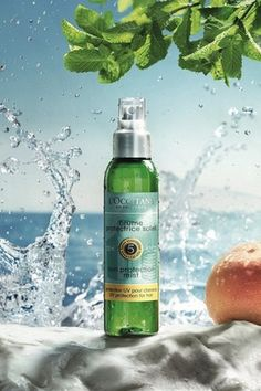ロクシタンから紫外線から髪と地肌を守るUVヘアミストが限定発売。