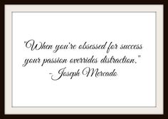 When You're Obsessed For Success - Digital Mind-Set Calligraphy Quote - Instant Delivery! by MasterMindWisdom on Etsy