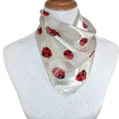 CTM Women's 21 inch Ladybug Square Scarf CTM. $3.95 I want it BAD ❤️❤️❤️❤️❤️❤️❤️❤️❤️❤️❤️❤️❤️❤️❤️❤️