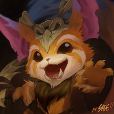 League of Legends - GNARRR by ffSade.deviantart.com on @deviantART