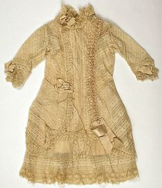 Girl's Dress   c.1880's The Metropolitan Museum of Art