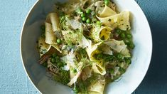 Pappardelle with Chicken Ragù, Fennel, and Peas