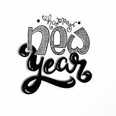 Happy New Year #handlettering