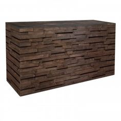 Did someone say Williamsburg hipster? The Urban Bar (6ft) looks like a handcrafted and reclaimed wood bar, but only you'll know that it's available from FormDecor Furniture Rental. Wood paneling for days, the Urban Bar (6ft) has a beautifully distressed solid wood top that's perfectly smooth to the touch.