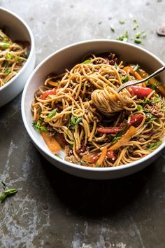 better than takeout peanut noodles