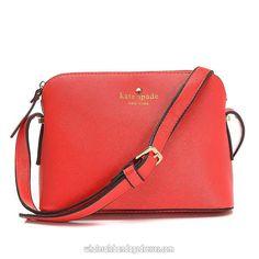 7e454bd350a1 Kate Spade Handbags 01 Series Messenger Red WBKSHB150669 Handbags On Sale