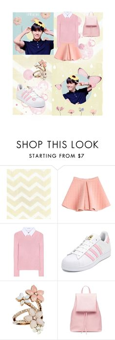 """Pink Hobie"" by ks2823 ❤ liked on Polyvore featuring Marina Hoermanseder, Altuzarra, adidas and Accessorize"