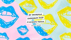 Wallpaper_be-yourself_by-LoveVividly.jpg 2560×1440 pikseli