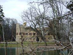 Janohrad (south Moravia, distr.Břeclav), romantic castle from 19th.century