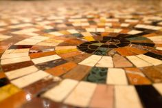 mosaic floor in Barcelona www.suelosantiguos.com
