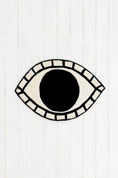 Magical Thinking Eye Rug