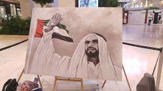 Sheikh Zayed Portrait