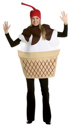 Ice Cream Sundae Adult: Clothing http://www.worldofadultcostumes.com/Male-Costumes.html #fairy_tale_costumes #disney_adult_costumes #adulthalloweencostumes #halloween 2013 #snowwhitecostume #halloweencostumesfemaleadult #princess_female_costume #robin_costume_batman #best_adult_costume