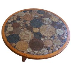 Tue Poulsen ceramic coffee table, Denmark 1963