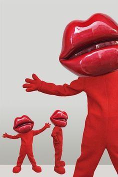 MASKOT | Creature Moving Eyes, Glossy Eyes, Laminated Fabric, Mascot Design, Character Costumes, Pink Tone, Character Design, Creatures, Lips