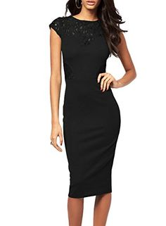 Monicaca Womens Celebrity Lace Splicing Evening Pencil Midi Bodycon Dress Waltzmart http://www.amazon.com/dp/B00L8LZM76/ref=cm_sw_r_pi_dp_lJiTtb0NAKCA315Z