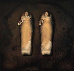 Sleeping Twins Odd Nerdrum