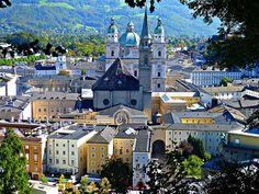 Salzburg, Austria (auf dem Mönchsberg), à la colline du moine, on the hill of the monk, sulla collina del frate, en la colina del monje (by Josef Lex)