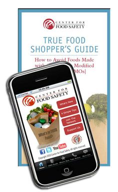 Download our True Food Shopper's Guid to Avoiding Genetically Engineered Food. Download it online, free on iTunes or in the Andriod Market: http://truefoodnow.org/shoppers-guide/