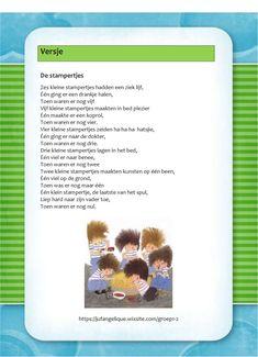 Versje: De stampertjes Schmidt, Annie, School