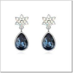 $14,23 Beauty Tauriel Swarovski crystal earrings - Yohanna Jewelry Wholesale.  BEST PRICE: Directly in the jewelry factory. VAT-free shopping: Available, partners based in the European Union, only applies to EU tax identification number (UID). Exclusive design SWAROVSKI crystals and AAA Zircon crystal jewelry and men's stainless steel jewelry and high-quality stainless steel jewelry for couples sell in bulk to resellers! Please contact us.