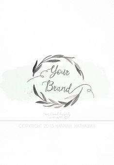 Business Identity Brand Set: Pre Made by HappilyEverAfterEtsy