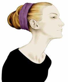 Illustration mode portrait profil Florence Gendre