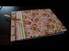 Encuadernacion Copta video Tutorial DIY Encuadernacion Casera Reciclado español Pintura Facil - YouTube
