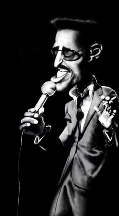 Sammy Davis, Jr - Caricature                                                                                                                                                      More