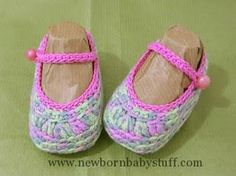 Crochet Baby Booties Crocheted Baby Shoes - Free Pattern...