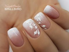 Are you ready to book your next manicure, if not then this is the perfect […] Elegant Nail Art, Elegant Nail Designs, Beautiful Nail Designs, Beautiful Nail Art, French Nail Designs, Classy Nails, Stylish Nails, Cute Nails, Pretty Nails