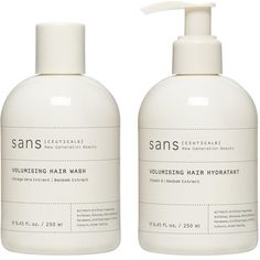 sans [CEUTICALS] Volumizing Hair Care ($79) ❤ liked on Polyvore featuring beauty products, haircare, fillers, beauty, makeup, white fillers, cosmetics, hair care, wash and sulfate free hair care