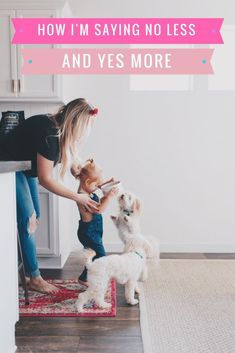best food for our dogs / letting littles help arou…
