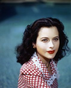 Hedy Lamarr (1913-2000).  More than anything, she reminds me of the Biblical Esther, a leader of her people in all the ways that matter.