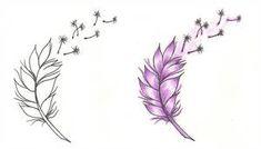 Feather n dandelion tattoo designs - tattoos book - tattoos Small Feather Tattoo, Dandelion Tattoo Design, Feather Tattoo Design, Butterfly Tattoo Designs, Feather Tattoos, Tatoos, Flower Tattoo Sleeve Men, Flower Tattoo Back, Feather Illustration