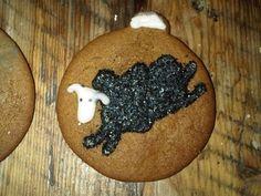 Minor Threat black sheep cookie