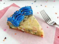 Funfetti Cake Batter White Chocolate Chip Cookie Cake
